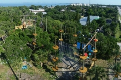 aerial shot of CBAA